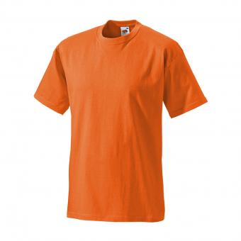 Fruit of the Loom T-Shirt oranje | XL