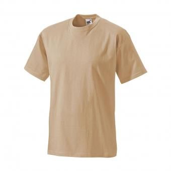 T-shirt Fruit of the Loom beige | XL
