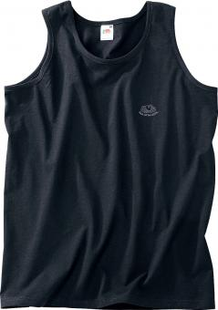 Fruit of the Loom Athletic Tank-Top zwart | L