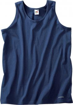 Fruit of the Loom Athletic Tank-Top marine | S