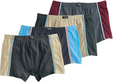Retro Shorts, Pack of 4 assorted colors | 8