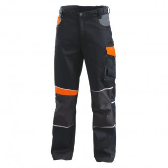 KRÄHE Performance Trousers orange black | 44