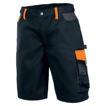 KRÄHE Performance Bermudas schwarz orange | 44
