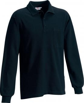 Hakro Pocket Polo Long Sleeve Shirt black | M