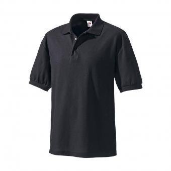 Fruit of the Loom Polo shirt black | L