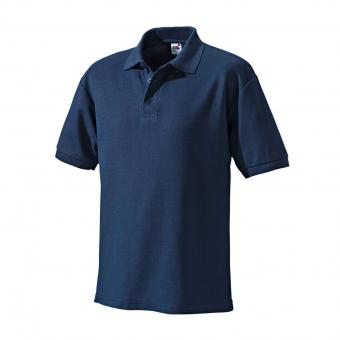 Fruit of the Loom Polo-Shirt marine | M