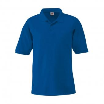 Fruit of the Loom Poloshirt royal | XL