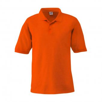 Fruit of the Loom Poloshirt oranje | M