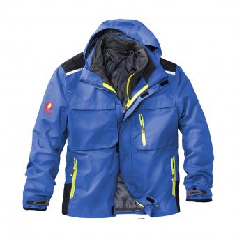 KRÄHE 3-in-1 Functional Jacket cornflower blue | XS