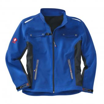 KRÄHE Softshell Jacket cornflower blue | S