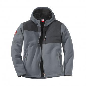 KRÄHE Advanced Fleece-Jacke grau grau | XL