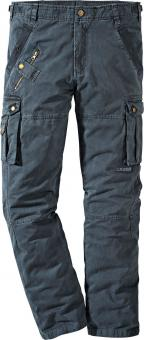 Planam Casual Mountain Cargo Pants anthracite | 52
