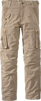 Planam Casual Mountain Cargo Pants beige | 60