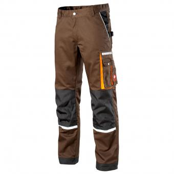 KRÄHE Modern Plus Pro Trousers brown grey | 50