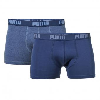 Puma retroshort 2 stuks blue denim | M