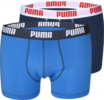 Puma Retro Shorts, pack of 2 blue marine | L