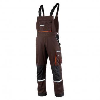 KRÄHE Modern Plus Pro Bib and Brace brown grey | 98