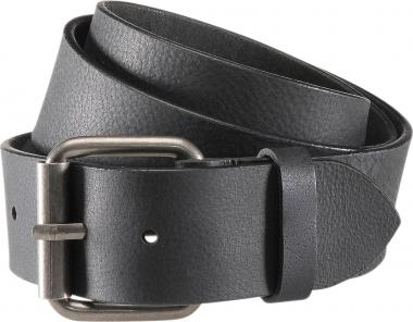 Leather belt black | 100