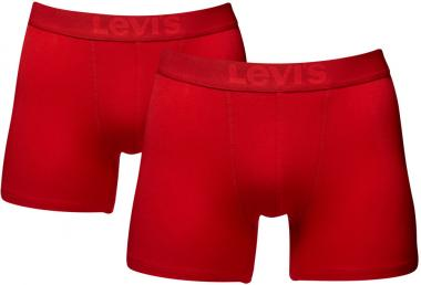 Levis Retro Shorts, pack of 2 red | L