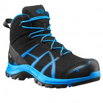 Haix Safety 40 Mid Safety Boots S3 HRO HI CI WR SRC ESD EN ISO 20345 black blue | 40