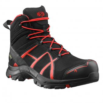Haix Safety 40 Mid Safety Boots S3 HRO HI CI WR SRC ESD EN ISO 20345 black red | 044