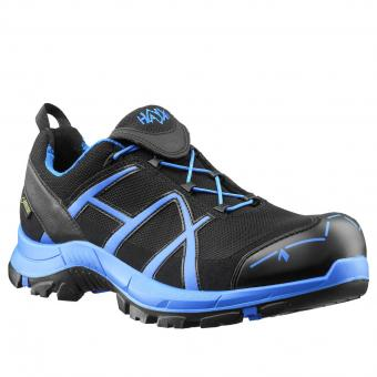 Haix Safety 40 Low Safety Shoes S3 HRO HI CI WR SRC ESD EN ISO 20345 black blue | 40
