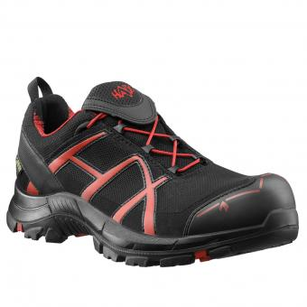 Haix Safety 40 Low Safety Shoes S3 HRO HI CI WR SRC ESD EN ISO 20345 black red | 44