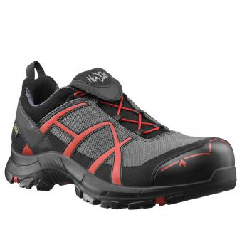 Haix Safety 40 Low Safety Shoes S3 HRO HI CI WR SRC ESD EN ISO 20345 grey red | 42