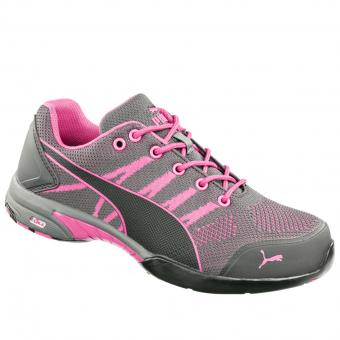Puma Safety Celerity Knit Pink Sicherheits-Halbschuhe S1 SRC HRO EN ISO 20345 grey | 037