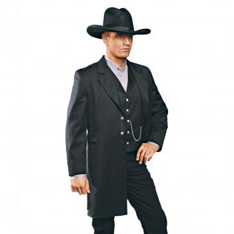 Stars & Stripes Frock coat Wyatt black | S