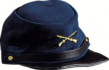 Stars & Stripes Leather cap North marine