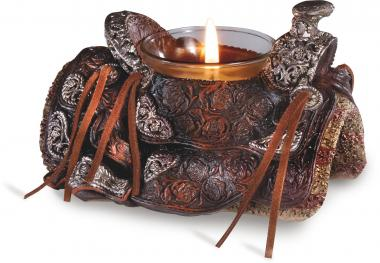 Saddle Tea candle holder