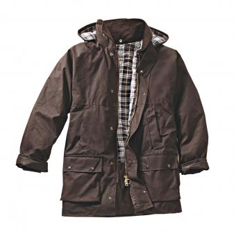 Wax jacket Basic brown | XL
