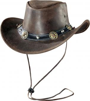 Hat Concho brown | S
