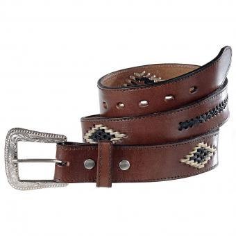 Stars & Stripes Belt Paterson dark brown | 120