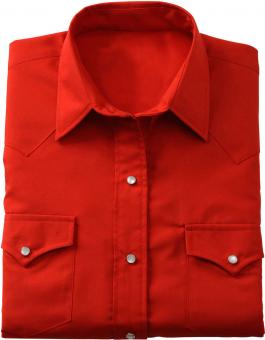 Shirt short sleeved Boulder red | S