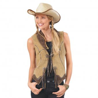 Vest Tamia light brown brown | XXL