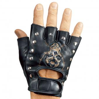 Gloves Bikerstyle black | XXL
