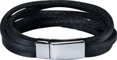 Skyrace Leather Arm Band Willow. black