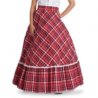 Rok Alice rood wit | 40
