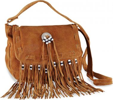 Indiana Leather Bag light brown