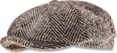 Stetson Cap Herringbone brown beige | 60