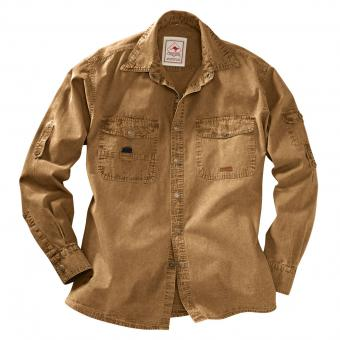 Scippis Shirt Cowra brown | M