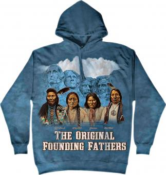 The Mountain Hoodie grey blue | XXL