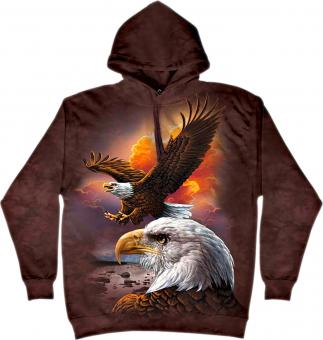 The Mountain Hoodie brown | M