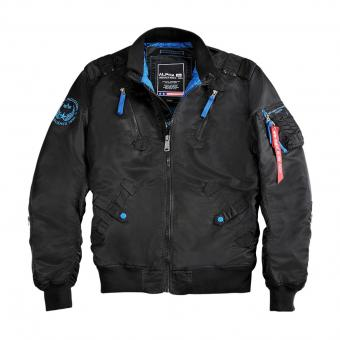 Alpha Industries Fliegerjacke Falcon II schwarz | L