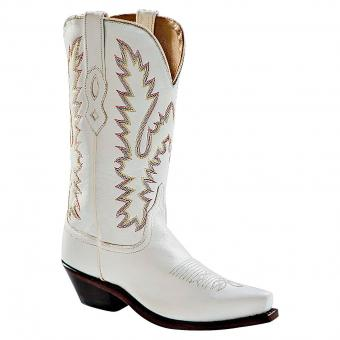 Old West Cowboy Boots Melrose white | 38
