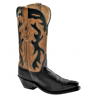 Old West Cowboy Boots Melrose brown black | 37