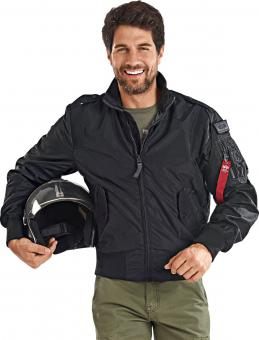 Alpha Industries Fliegerblouson Starfighter schwarz | M