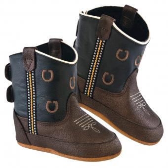Old West Cowboy Boots Little Pony brown | 3